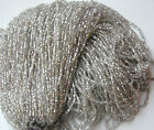Silver Vintage Master Hank Seed Beads NOS New Old stock CLOSEOUT SALE 1 lb+ LN