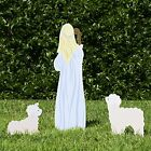 Outdoor Nativity Store Outdoor Nativity Set Add on Shepherd and Sheep Stand