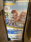 NEW Intex 18ft x 48in Easy Set Pool Set With Filter Pump Ladder Cloth  Cover