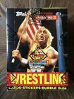 1987 Topps WWF Wrestling Box BBCE Non X Out Clean Display Pristine Condition Box