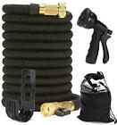 Expandable Leakproof Lightweight Water Hose with 6 Adjustable Spray Patterns Hig