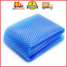 Hot Tub Bubble Cover Floating Spa Blanket Trimmable Heavy Duty Insulating Solar