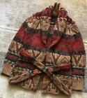 Excellent Astringency Thickness Ralph Lauren Native Pattern Knit Cardigan Gown