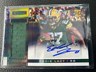 2013 R & S ROOKIES STARS AUTOGRAPH PATCH ROOKIE EDDIE LACY AUTO RC 99 Packers