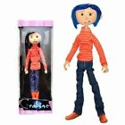 Coraline Bendy Doll in RainCoat Action Figure Striped Sweater Raincoat Toy