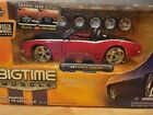 JADA BIGTIME MUSCLE 1967 CHEVY CAMARO DIECAST MODEL KIT RED AND BLACK 124