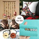 1200 pcs Mixed Color Wooden Buttons Manual Button DIY 2 Holes and 4 Holes