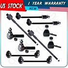 10 For 1997 1998 1999 2000 2001 2002 2003 INFINITI QX4 Tie Rod Ends Sway Bar Kit