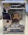 Funko Pop TONY ROMO 66 Toys R Us Exclusive NFL Retired Vaulted NEAR MINT BOX
