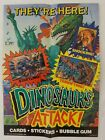 1988 Topps Dinosaurs Attack Trading Cards 6