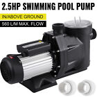 Hayward Above In Ground 25HP 110V Swimming Pool Pump 1850W Spa Motor Strainer