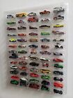 Hot wheels display case clear w clear dust cover for 65 loose diecast cars