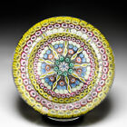 Perthshire Paperweights 1978 1982 patterned millefiori faceted paperweight