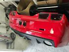 10 13 Camaro SS REAR BUMPER Cover with Lights Trim BRIGHT RED