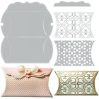 Sizzix Pillow Box Dies with Filigree Inserts Bomboniere 5 Large Dies