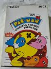 New Fleer Pac-man Trading Cards 36 Ct Box # 527