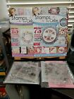 Stamps by Chloe Lot of 2 magazines 7 stamps and 2 stamps and dies New