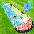 Giant Lawn Water Slides for Kids Adults 157Ft Racing Lanes Splash Pool Outdoor