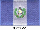 50 Pcs Guatemala Flag Embroidered Patches 35x225 iron on