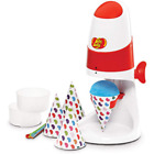 Jelly Belly Electric Ice Shaver with Bonus Cone Cups  Straws JB15315