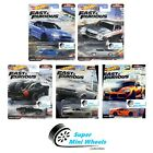 Hot Wheels 2021 Fast  Furious Fast Superstars M Case Set of 5 Cars In Stock