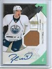 2010 11 UD SPX Taylor Hall Auto Jersey RC 499 Bruins