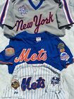 3 Authentic New York Mets Jersey's Piazza David Wright 2000 2015 World Series