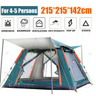 4 5 People Large Waterproof Automatic Outdoor Instant Pop Up Tent Camping Hiking