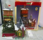LEMAX EAGLES NEST FIRE LOOKOUT CHRISTMAS VILLAGE HOUSE MINT IN BOX