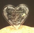 Hallmark Ornament 1979 Time of Memories& Dreams Time of Love  Acrylic Heart MINT