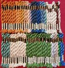 DMC Cotton Pearl Coton Perle 5 Embroidery Thread 63 Skeins Mix of Colors Lot 8