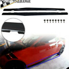 For 2010 2011 2012 2013 2014 2015 Chevy Camaro LT LS SS Pair Side Skirts