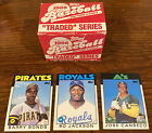 1986 Topps Traded- Complete Set- Bonds Canseco, Jackson RC- Ships Fast!