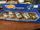 Vintage 1987 Hot Wheels Trailbusters 5 Car Gift Pak in Sealed Box Unopened 3872