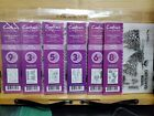 Crafters Companion Acrylic Stamps Donna Rafcliff Lot of 6 Christmas Stamps new