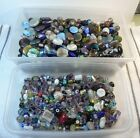 HUGE Glass Bead Lot 15 lbs Mixed Colors  Styles 6mm 34mm Selling ALL Inventory