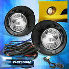 For 10 13 Chevy Camaro Driving Fog Lights Lamps Clear Lens + Wiring Switch Kit
