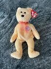 TY BEANIE BABY BABIES Sunny 2000 with hologram RARE raised 3D chest logo