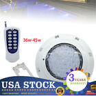 45W Swimming Pool Lamp 7 Colours RGB LED Light Remote Control Waterproof NEW