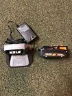 1 New Ridgid R87002 18V Lithium Ion 20Ah cordless Battery with charger