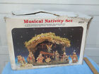 Vintage Large Musical Nativity Scene Made in Italy Sears Roebuck 98231