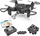 4DRC Foldable Mini Drone with 720P HD Camera for KidsFpv Live Video RC