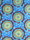 Amy Butler Buttercups 31 Yds Fabric Soul Blossoms Fabric Blue Yellow Brown AB62