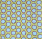 Amy Butler Fabric 51 Yds Soul Blossoms Laurel Dots AB61 Blue Yellow Polka Dots