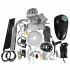 50CC 2 Cycle Petrol Gas Engine Motor Kit for Motorized Bicycle Bike Silver Body