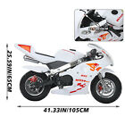A+ 49cc 2 Stroke Engine Gas Power Pocket Bike Motorcycle For 13+ KidsTeens New