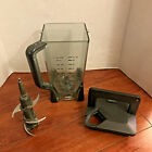 Ninja 72 oz 9 Cup Blender Pitcher with Lid  Blade Replacement PARTS ONLY WORKS