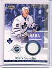 Mats Sundin Cards, Rookie Cards and Autographed Memorabilia Guide 17