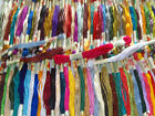 100 Art Silk Rayon Stranded Skeins Embroidery Thread Bargain Value