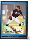 2009 09 BOWMAN DRAFT PICKS PROSPECTS BRAD HAND AUTO AUTOGRAPH - MARLINS